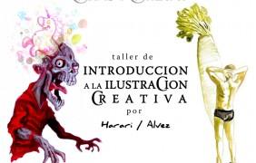 Flayer C&C - taller de Introduccion a la Ilustracion creativa -
